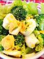 カレー風味のブロッコリーサラダ