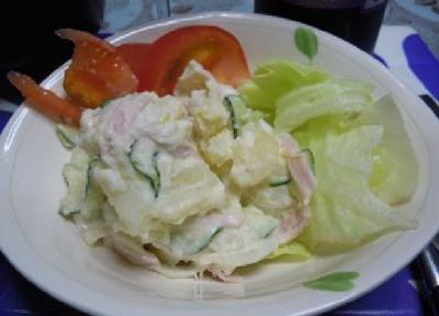 ポテサラ白菜&ちきんトマト煮&先斗町のぴょんぴょこぴょん(^▽^)☆