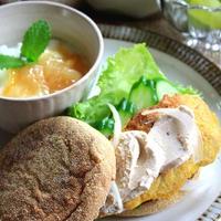 ◆クリームチーズで鰯のフリーッタマフィン~ゆるやか糖質制限中♪