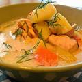サーモンスープ