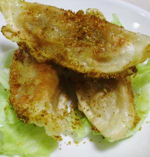 揚げ餃子のカレーチーズ風味<スパイシー♪>