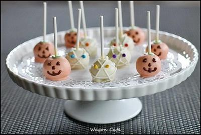 パンプキン cake pops