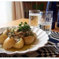 簡単!ジャガイモとオイルサーディンでおうちごはん。