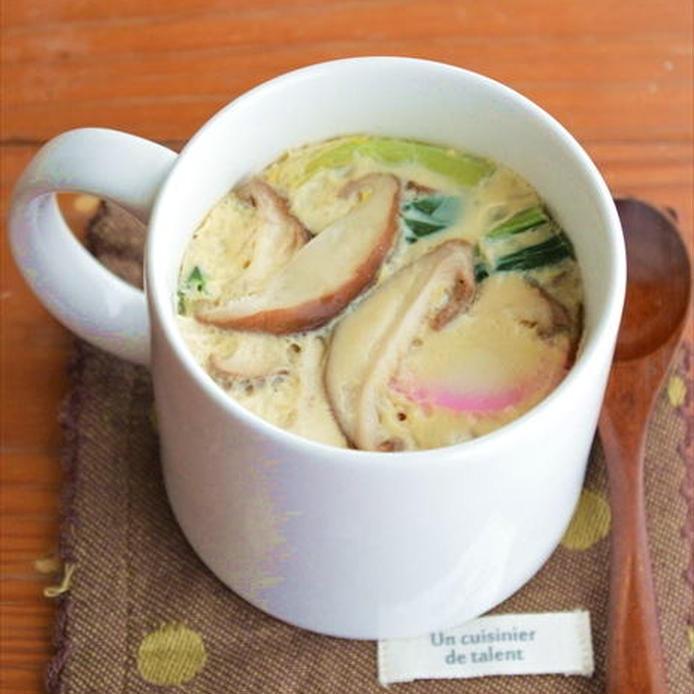 マグカップで作った茶碗蒸し