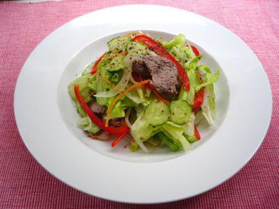 イタリアン肉サラダ