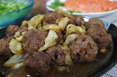 【ほっこりキッチン】肉団子の甘辛煮