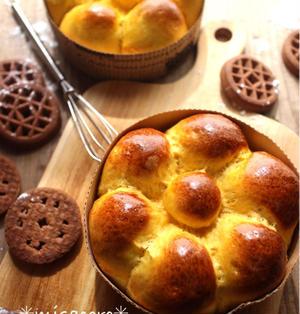 *ハロウィンにも♪材料2つ!HMかぼちゃパンと、みさころの朝食大公開*