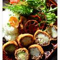 ✽スパイシーカレーと野菜のカツレツ✽