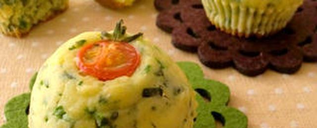野菜が苦手でもおいしく食べられる!ほうれん草マフィンのおすすめレシピ