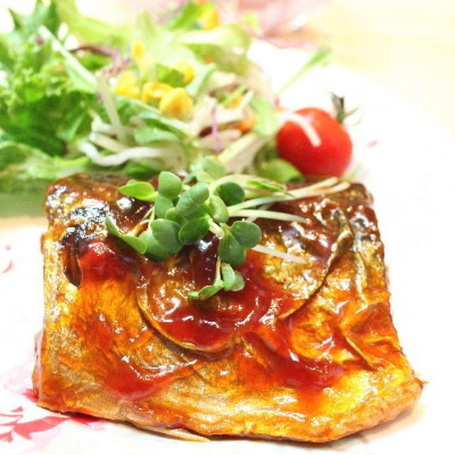 鯖のケチャップソテー レシピ