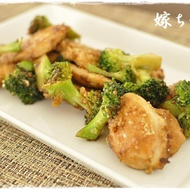 ふっくらジューシー♪塩麹で鶏ささ身とブロッコリーのウマウマ炒め。
