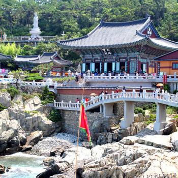 韓国旅行:釜山(プサン)2-1:海東 龍宮寺(ヘドンヨングンサ)