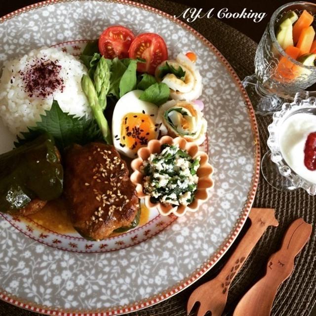【連載】ワイヤーママ8月号レシピ・和風甘辛ピーマンの肉詰め