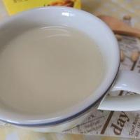 おからパウダー+きなこ+豆乳で♪ イソフラボンなソイミルクティー