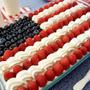 おいしいアメリカンフラッグケーキ
