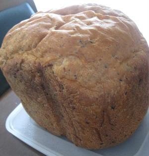 旨味たっぷり HBで コーンポタージュとベーコンの食パン