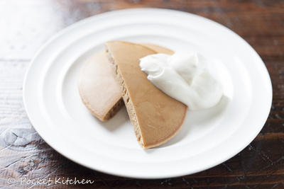 ミルクティーパンケーキ