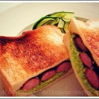 ジョンソンヴィルでサンドイッチ