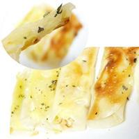 千切りキャベツの餃子の皮包み・・・バジルがいい香り~