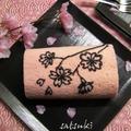 桜もようの苺ロールケーキ by 彩月satsukiさん