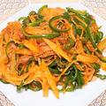 薬膳ってなぁに?今日は家庭運と根気のポテトがラッキー、ポテトとピーマンの中華風ピリ辛炒めで薬膳!