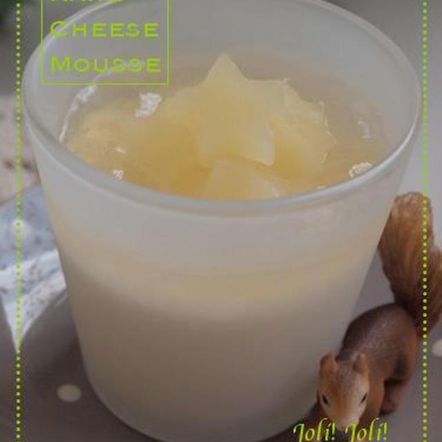 《レシピ》パイナップルとレアチーズのゼリー