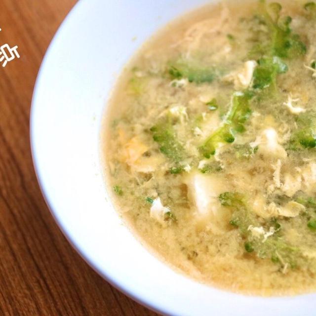 【栄養士レシピ】ゴーヤの栄養成分を逃がさない!簡単!ゴーヤと卵のコンソメスープ