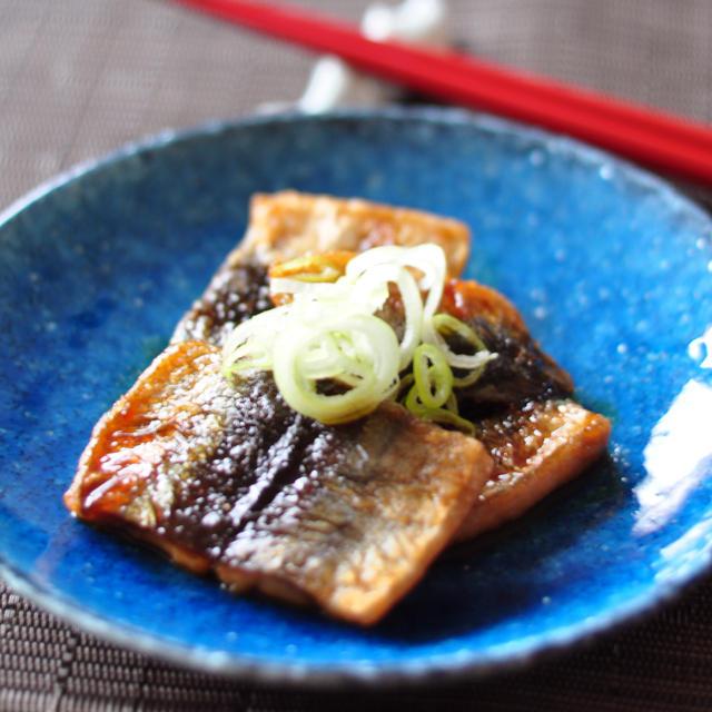 【妊婦さんは魚を食べよう!】手抜きして、焼くだけのさんまのかば焼き