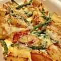 【レシピ】ガーリックポテトのチーズ焼き