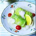 ロールキャベツのココナッツミルクレモン煮★めん☆パラで公開 塩ラーメンのトムヤムクン
