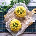 混ぜるだけ♪薄力粉とオートミールの卵サラダパン