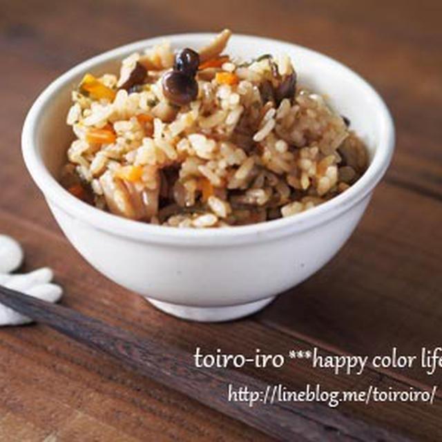 塩昆布で作る、超簡単な炊き込みご飯