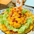 ハロウィンかぼちゃサラダ