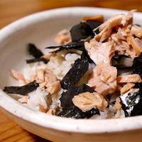 鮭ときのこで秋のちらし寿司