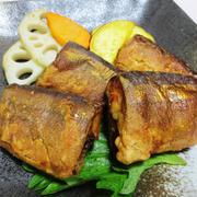 秋刀魚のからし醤油揚げ