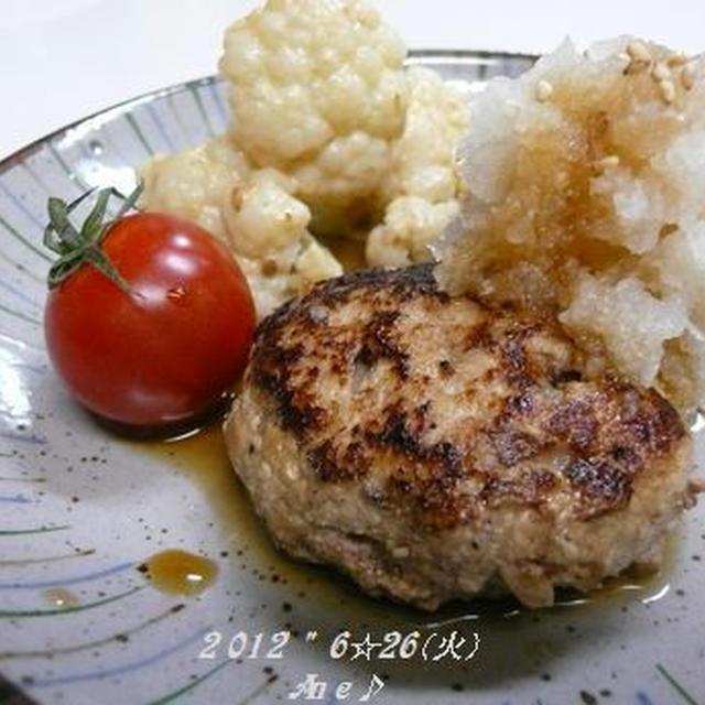 Ane☆お豆腐ハンバーグ~ <和風&ソ~ス