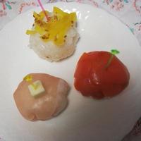 ミツカンすし酢を使って手まり寿司