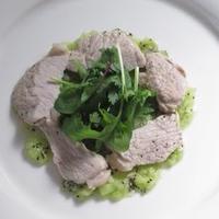 豚ヒレ肉のキウイソース