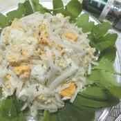 大根とたまごのサラダ