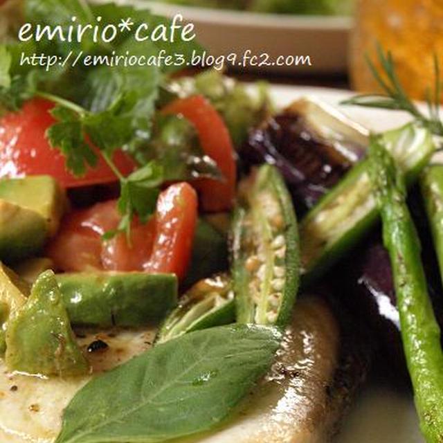 カジキマグロのソテー野菜たっぷりワンプレート