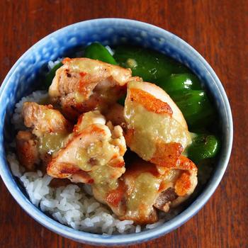 鶏もも肉は、ただ焼いて「柚子こしょう」で食べるのが一番ウマ死かもしんない。