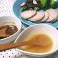 炊飯器で安全簡単鶏ハム&二種のソース