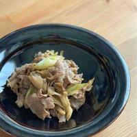 【米油部】牛肉とマイタケの炒めもの