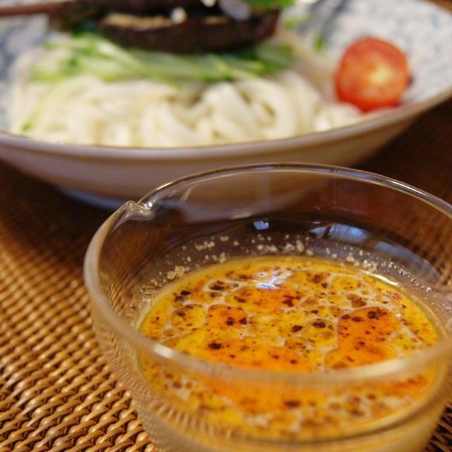 麺類に✿ピリ辛豆乳胡麻だれ✿