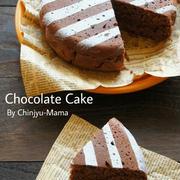 [簡単!フライパンで!] アレを入れるとふわっふわ~♪なチョコレートケーキ ※デコレーションにも