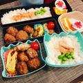 エノキ肉団子弁当。