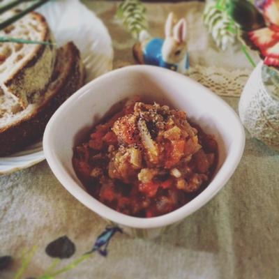 作り置き☆簡単♪みそ味のトマトソース