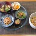 具の種類が少ない炊き込みごはん☆甘長しし唐の雑魚炒り煮♪☆♪☆♪