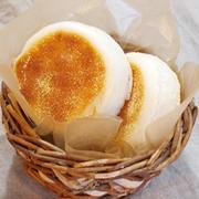 フライパンで作る、米粉イングリッシュマフィン