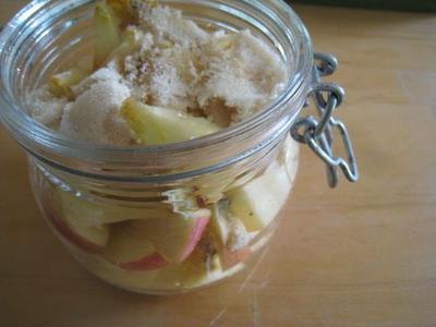 りんご酵母おこし